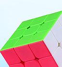 Профессиональный Кубик Рубика 3 на 3 Qiyi Cube в цветном пластике. Оригинал, фото 5