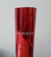 Флекс пленка Красное зеркало с эффектом фольги (OS Foil Red), фото 1