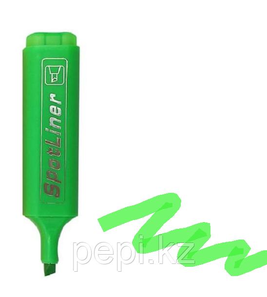 Текстовыделитель Sport Liner 1-4 мм, зеленый
