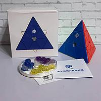 Скоростная головоломка Gan Pyraminx M Explorer с гайками