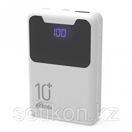 Зарядное устройство Power bank Ritmix RPB-10005 белый, фото 2