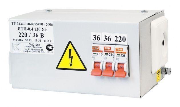 Ящик ЯТП 220/36 (3 авт.выкл.) IP54 Кострома
