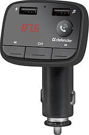 Модулятор FM Defender RT-Multy BT/HF, USB 2.1A