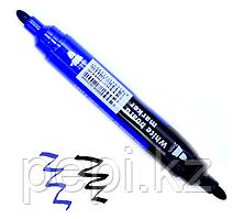 Маркер по доске Gixin, двусторонний синий-черный