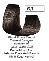 Крем-краска для волос Lilafix, тон 6/1 Темный блондин пепельный