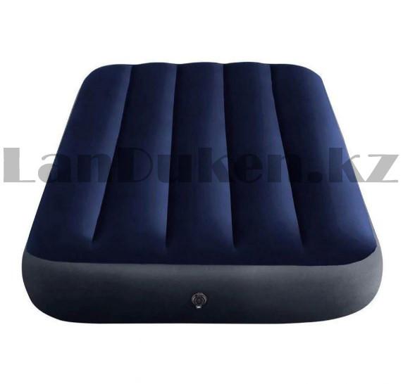 Надувной матрас одноместный Intex 64756 (76х191х25 см) - фото 4