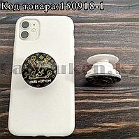 Держатель для смартфона PopSocket коллекция LouisVuitton черный