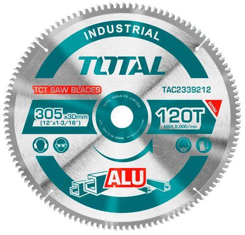 Диск пильный 305х30мм 120Т TOTAL арт.TAC2339212