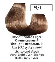 Крем-краска для волос Lilafix, тон 9/1 Очень светлый блондин пепельный