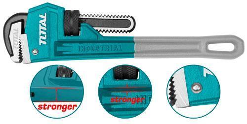 Трубный ключ прямой тип С  TOTAL арт.THTAL17186