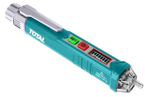Детектор переменного напряжения 12В-1000В TOTAL арт.THT2910003