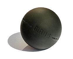 Мяч для МФР 9 см одинарный черный FT-MARS-BLACK