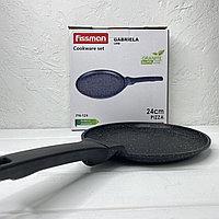 Сковорода для блинов Fissman 24см с крышкой