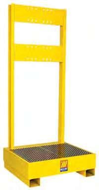 Подставка для 1 бочки с держателем для катушек Meclube 023-1925-000