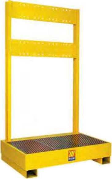 Подставка для 2 бочек с держателем для катушек Meclube 023-1930-000