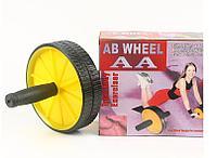 Тренажер для всего тела ab wheel {гимнастический ролик}