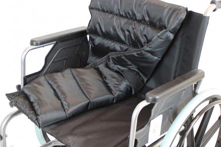 Коляска для инвалидов модель FS951B-56 (4800) для полных людей, ширина сиденья 53-56см