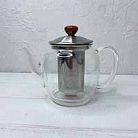 Чайник заварник стеклянный 800мл