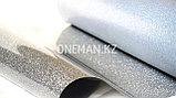 Флекс пленка глиттер серебро (OSG Glitter Silver), фото 2