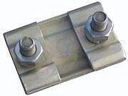Плашечные зажимы для соединения неизолированных алюминиевых или стальных проводов ПС-2-1