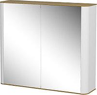 Шкаф навесной: 2 двери зеркальных