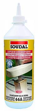Суперводостойкий полиуретановый клей для дерева 66А 12*250 мл (D4)