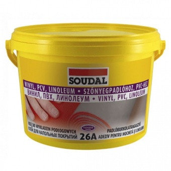 Клей для напольных покрытий Соудал 26А 5кг