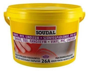 Клей для напольных покрытий Соудал 26А 6*1кг