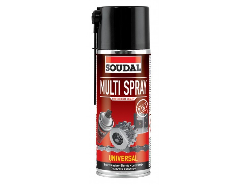 Multi Spray - многофункциональная аэрозольная смазка 6*400мл
