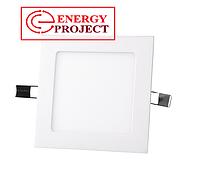 Светодиодная панель квадратная встраиваемая 225х225 18W/ 1440 Lm 6400 К