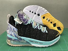 Баскетбольные кроссовки Nike LeBron 18 ( XVIII) Galaxy (36-46)