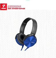Накладные наушники с микрофоном XB450AP EXTRA BASS синий