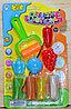 1205C Пластилин на картоне(4вета,фигурки,скакалка)Creativ 28*17см