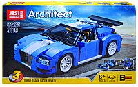 3119 Гоночный автомобиль констр 664дет (собирается 3 модели) Architect 55*32см, фото 1