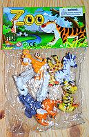 P2903/8 ZOO дикие животные Зоопарк в пакете 8шт,25*16см