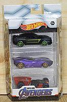 DE-3 Hot Whel Avengers Машинки мстители 3в1,17*11см, фото 1
