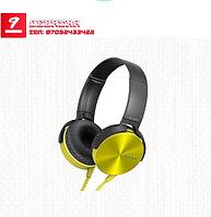 Накладные наушники с микрофоном XB450AP EXTRA BASS желтый