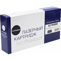 Тонер-картридж NetProduct (N-CLT-K406S) для Samsung CLP-360/365/368/CLX-3300/3305, Bk,1,5K