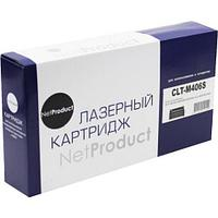 Тонер-картридж NetProduct (N-CLT-M406S) для Samsung CLP-360/365/368/CLX-3300/3305, M, 1K