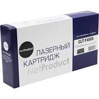 Тонер-картридж NetProduct (N-CLT-Y406S) для Samsung CLP-360/365/368/CLX-3300/3305, Y, 1K