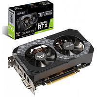 Видеокарта ASUS GeForce RTX2060 6GB GDDR6 19bit 1xDVI 2xHDMI 1xDP HDCP, TUF-RTX2060-O6G-GAMING