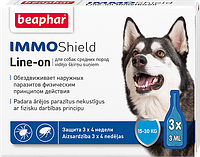 Immo Shield line-on dog M капли для средних собак против паразитов