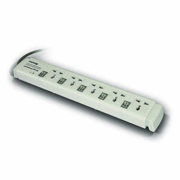 Сетевой фильтр Huntkey PZC504 (White, 3м, 5 розеток)