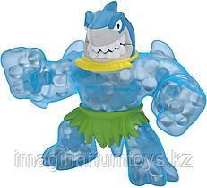 Гуджитсу игрушка тянущаяся фигурка акула Goo Jit Zu Дино серия