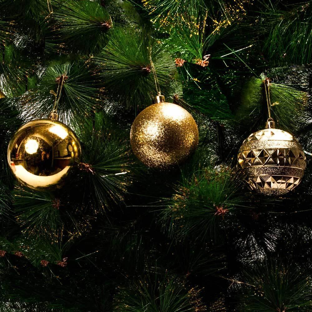 """Набор новогодних шариков """"Merry Christmas"""""""