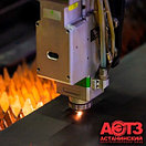 Лазерная резка алюминия (металл Ваш)  | до 5 мм | 1200*2500 мм, фото 2