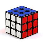 Оригинал 100%. Кубик Рубика 3 на 3 Qiyi Cube в черном пластике, фото 7