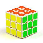 Оригинальный кубик Рубика 3 на 3 Qiyi Cube в белом пластике, фото 4