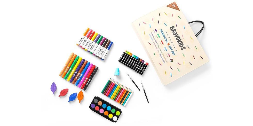 . Набор для детского творчества Xiaomi BravoKids Art Set (69 pcs.)