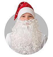 Batik Колпак Новогодний красный с бородой (103-6)